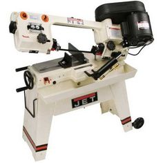 JET J-3230 5-Inch by 8-Inch 1/2-Horsepower 115-Volt Single Phase Horizontal Wet Bandsaw