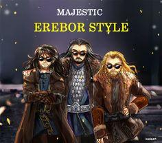 Fandom: Tolkien. MAJESTIC EREBOR STYLE by Kade. And suddenly I hear Gangnam Style in my head XD
