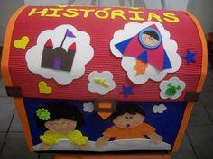 Andreia Criações: Baú de Histórias