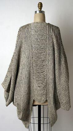 Issey Miyake sweater.