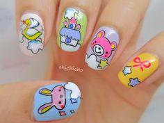 Nursery Cartoon | chichicho #nail #nails #nailart