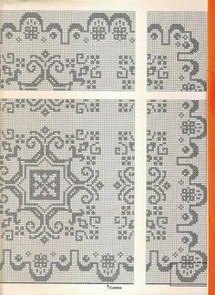 (19) Gallery.ru / Фото #115 - Filet Crochet pour Point de Croix 2 - Mongia
