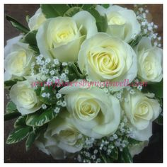 Avalanche roses, Pitto and gypsophila