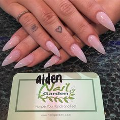 Ideas For Clear Baby Pink Nails Acrylic Baby Pink Nails Acrylic, Almond Acrylic Nails, Baby Nails, Love Nails, How To Do Nails, Fun Nails, Orange Nails, Purple Nails, Glam Nails