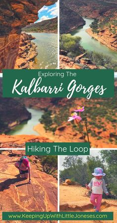 Hiking Kalbarri Gorges - The Loop Trail - Keeping Up With Little Joneses Travel Tours, Travel Destinations, Holiday Destinations, Australia Travel, Western Australia, Kalbarri National Park, Big Day Out, Australian Road Trip, Hiking With Kids