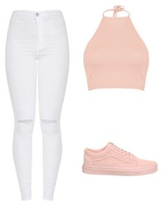 """Outfit"" by vicky-skoufh on Polyvore featuring Vans and Boohoo"