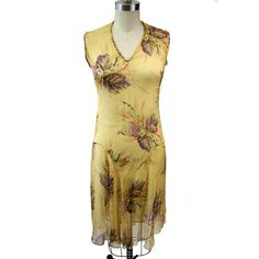 '20s Silk Floral Day Dress, $298, now featured on Fab.