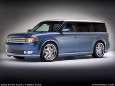 Courtesy of customisers Chip Foose and Funkmaster Flex, the new 2009 Ford Flex showed two distinct new looks at this year�s Specialty Equipment Market Association (SEMA) show in Las Vegas, USA. Description from nextcar.com.au. I searched for this on bing.com/images