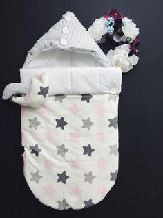 Sleeping bag for newborn SUMMER Swaddle Wrap por OrigamicoWorkshop