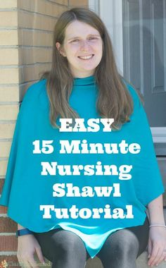 A nursing cover shawl is seriously the best nursing cover -- it covers your front and back well, and it's fashionable!