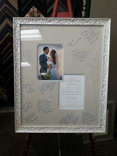 Custom framed guestb