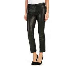 Roccobarocco Black Cotton Capris Pants Size 2 #Roccobarocco ...