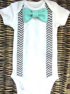 Baby Boy Clothes  Bow Tie Onesie  Tuxedo Onesie  by SewLovedBaby, $17.99