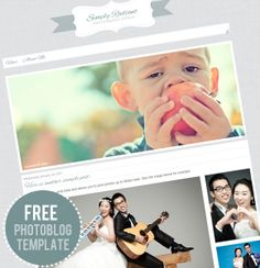 The Darling Blog: Free Blogger Template: Photography Blog Theme
