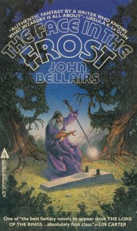 """The Face in the Frost, by John Bellairs - My favorite book of all time... till I read Terry Pratchett's """"Snuff"""" recently."""