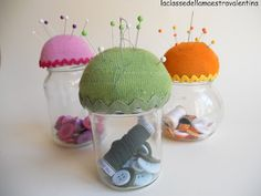 jar for sewing