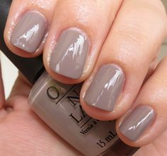 Opi: Berlin there done that.  I just painted my nails this color. Love it!