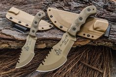 TOPS Knives told us recently they've got a couple of their Tom Brown knives now available in a new color, finish and handle option Read more:...