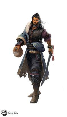 m Rogue Thief Pirate tavern docks coastal urban city ship sea ArtStation - Pirate Do-Won, Kenneth Solis