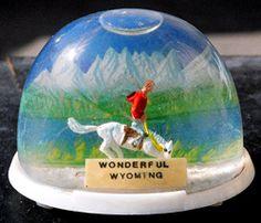 Wonderful Wyoming globe