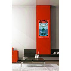 WARHOL - Campbell's Soup Can, 1965 61x101 cm #artprints #interior #design #art #prints #Warhol  Scopri Descrizione e Prezzo http://www.artopweb.com/autori/andy-warhol/EC18113