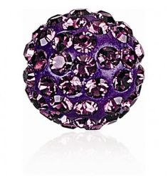 Amethyst (204) Pavé Ball Helmed SWAROVSKI ELEMENTS.  Pavè Ball Helmed (86 001) – on Uus toode Swarovski Elements!  The Pavé Ball unites Ceralun™ technology with brilliant Chatons, giving it a spherical shape for ultra-versatility. The Pavè Ball Beads often called as the Shamballa Beads. They are ideally suitable for production of a Shambhala bracelets.   Pavè Ball Helmed Swarovski Elements saadaval järgmistel suurustes: 4mm, 6mm, 8mm ja 10mm