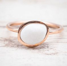 N E W Rose Gold Pebble Rings are finally here These are beyond beautiful and the photos do them no justice at all Available in our NEW Collection (with matching necklace and earrings) www.indieandharper.com