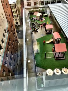 Rooftop Playgrounds | Adventures of a Seattle Dad