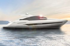 Luxury British boatbuilder, Fairline Yachts, unveils its first yacht designed by renowned Italian superyacht designer, Alberto Mancini. Fairline Yachts, Best Yachts, Luxury Yachts, Yacht Design, Boat Design, Personal Jet, Sailboat Living, Yacht Boat, Super Yachts