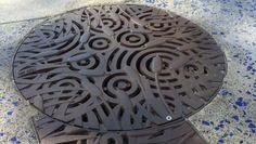 Made in the USA - Iron Age Designs Floor Drains, Rain Barrel, Iron Age, Irrigation, Basin, Fountain, Usa, Gallery, Garden