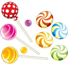 Instant download candy shop clip art rainbow birthday for Puerta willy wonka
