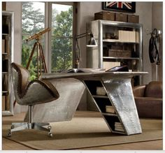 Made from aeroplane parts