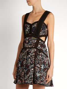 http://www.matchesfashion.com/au/products/Self-portrait-Floral-jacquard-mini-dress-1088600