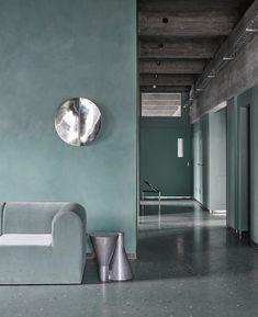 Detale CPH maling og spartel giver din væg et flot beton look