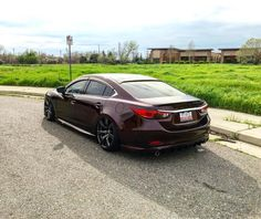 I'm diggin' this track look. I'm also diggin' the no need to dodge potholes lol. #SoonToBeStreetStyle #mazdamovement #mazdafitment #mazduhsquad #Mazda #mazda6 #mazdaworld #sixsquad #wrapped #wci #watercooledind #mv_tuning #airlift #accuair #airlift3p #airlift3h #slammed #stance #jdm #gtr #loweredlifestyle #fisheye #stancenation #daydreaming #highclassapproved #airsociety #cambergang #supremevip by freakinalex