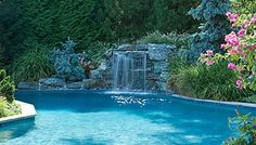 New Jersey Luxury Pool Design & Installation by Scenic Landscaping