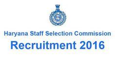 HSSC Recruitment 2016 for 7386 Jobs-Apply Now
