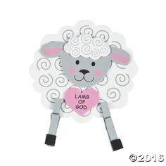 Lamb of God 3D Stand-Up Craft Kit - OrientalTrading.com