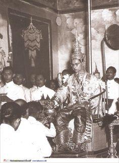 His Coronation Day.