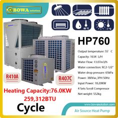 Check Price or air source water heat pump heater for villa , please consult shipping costs with seller Cheap Air Conditioner, Air Conditioner Parts, Water Cycle, Water Flow, Water Water, Scroll Compressor, Hvac Maintenance, Refrigeration And Air Conditioning, Villa