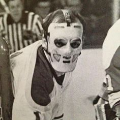 Hockey Goalie, Hockey Teams, Ice Hockey, Hockey Stuff, Nhl, Goalie Mask, Buffalo Sabres, Masked Man, Vancouver Canucks