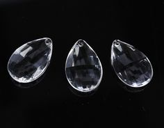 Clear Acrylic Crystal Teardrops - Confetti and Table Scatters - Wedding Decorations - Wedding Supplies - Party & Special Occasions Vase Fillers, Floral Supplies, Led Chandelier, Wedding Supplies, Xmas Tree, Clear Acrylic, Wind Chimes, Larger, Craft Supplies
