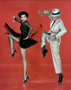 "Cyd Charisse and Fred Astaire in ""Band Wagon"" (Vincente Minnelli), 1953."