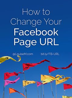 How to Change Your Facebook Page URL / Username / Vanity URL - and be SURE to check these cautions first!