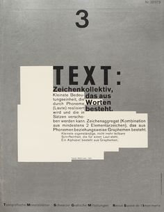 TM RSI SGM1975 Issue 3Cover Design by Wolfgang Weingart / Akzidenz Grotesk // Univers /