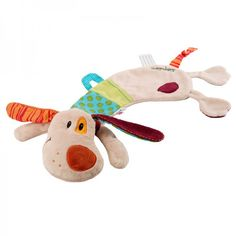 Lilliputiens Jef Hund Schmusetuch - mit Schnullerhalter, und kann auch als Handpuppe benutzt werden!