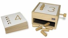 TAG Toys Tumble Down Counting Pegs - Free Shipping at SensoryEdge.com - Educational Toys