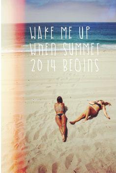 Despiértame cuando comience el verano de 2014. Spring, Spain, autumn and winter