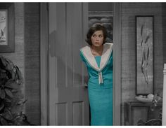 Laura Petrie in Color The Dick Van Dyke Show via Mandi Makes Nice