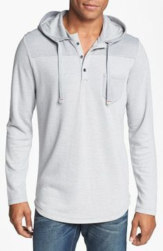 Howe 'Pistol Whip' Hooded Henley available at #Nordstrom